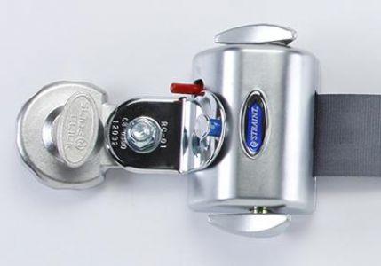 Q'STRAINT QRT Deluxe 型是第一种自锁、自动收紧的可收缩系统
